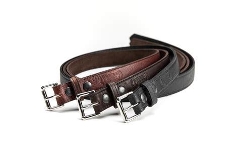 buffalo leather belt made in usa buffalo billfold company