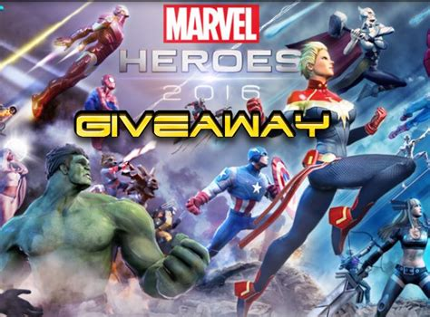Marvel Heroes Giveaway - marvel heroes 2016 hero random box giveaway