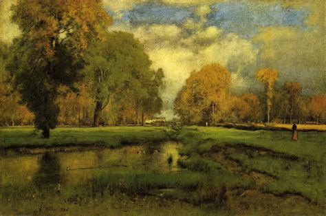 Landscape Artist George Crossword Paintings By George Inness World S National Museums And