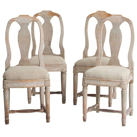 century dining room furniture set four swedish 18th century rococo period dining chairs for sale at 1stdibs
