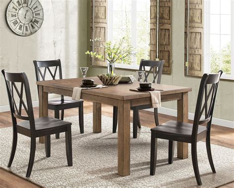 Pine Dining Room Furniture by Janina Pine Tone Dining Room Set From Homelegance