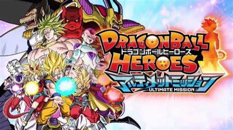 wallpaper dragon ball heroes dragon ball heroes ultimate mission launch trailer ドラゴン