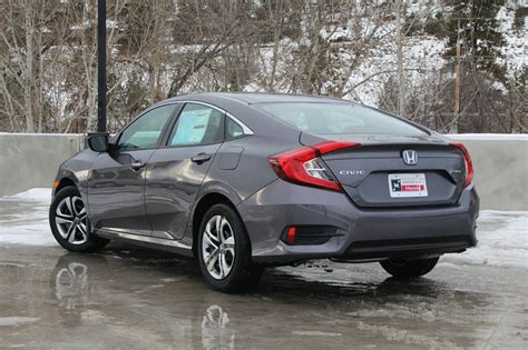 2017 Honda Civic Lx Manual Sedan by New 2017 Honda Civic Sedan 4dr Lx 4 Door Car In