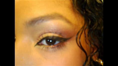 natural eye makeup tutorial youtube easy tropical summer sunrise eye shadow makeup tutorial
