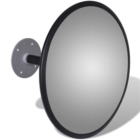 12 Indoor Acrylic Convex Mirror by Convex Traffic Mirror Acrylic Black 12 Quot Indoor Ebay