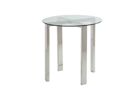 brushed nickel end table brushed nickel end tables at gardner white
