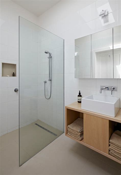 Walk In Shower Doors Glass Walk In Showers No Doors Bathroom Contemporary With Beige Floor Glass Partition