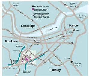 how to get to brigham and s hospital boston map