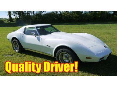 1975 Corvette Coupe 350 Auto Great Driver Classic Chevrolet Corvette 1975 For Sale Buy Used 1975 Corvette Coupe Driver Quality Recent Restoration Great Value 350 L48 V8 In