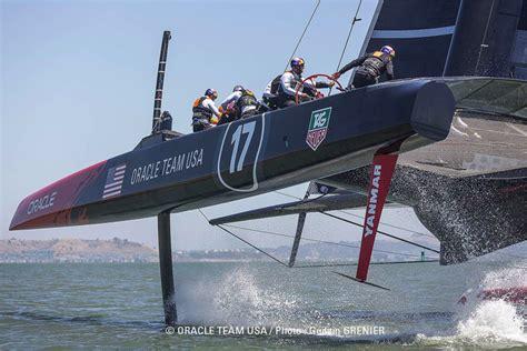 oracle hydrofoil boat america s cup 2013 optimizing design of ac72 catamarans