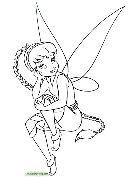 Disney Fairies Coloring Pages 2 Disney Coloring Book Fawn Coloring Pages