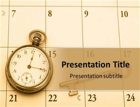 Time Management Training Powerpoint Template Background Of Time Management Ppt Templates Free