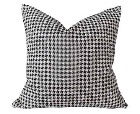 Black And White Houndstooth Pillows by Black White Throw Pillow Houndstooth Pillow Covers Plaid
