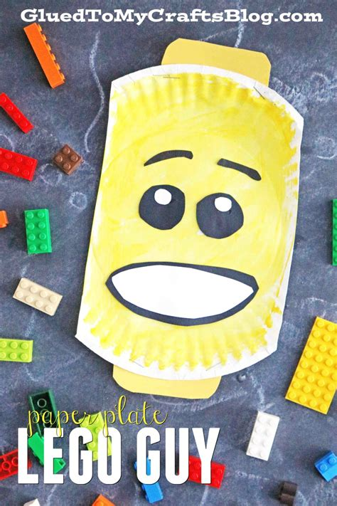 lego crafts for paper plate lego kid craft glued to my crafts