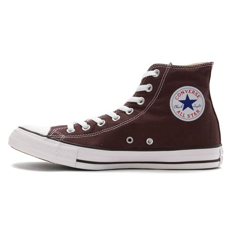 chuck sneaker lyst converse chuck high top sneaker in brown