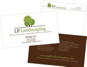 landscape business cards design nutmegaroo print design studio landscaping business