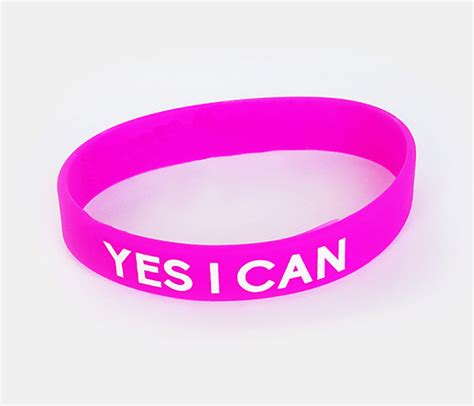 Bargain Shopping Yes I Can Do That by Motivational Wristband Yes I Can Anthony Rizk