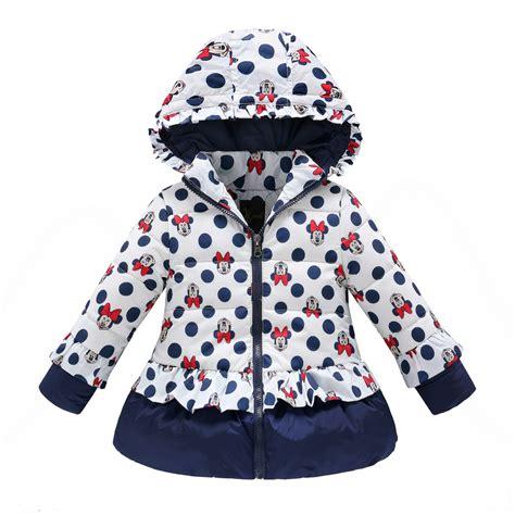 winter coats for baby winter coat children polka dot hooded jacket