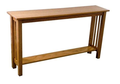 Amish Mission Sofa Table Mission Sofa Table