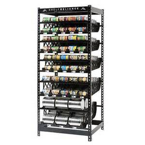 new 72 quot 300 can storage rack food rotation
