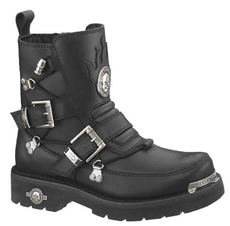 harley motorcycle boots harley davidson men s distortion skull motorycle