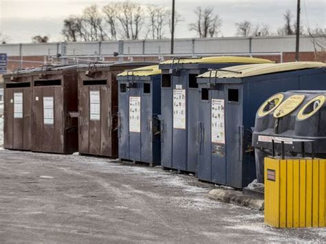 delaware reduces number  recycling centers