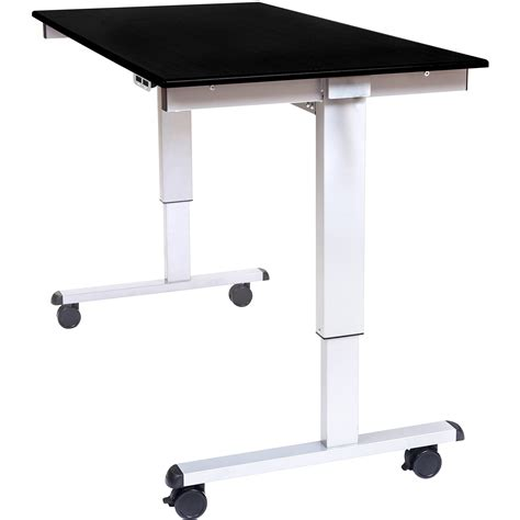 luxor 60 quot electric standing desk stande 60 ag bo b h photo