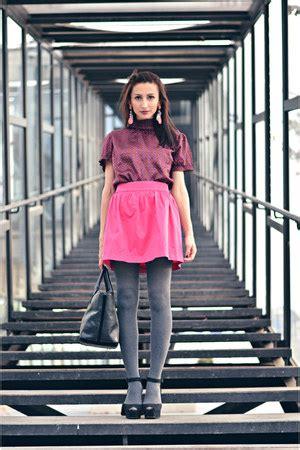 New Arrival Zara Bag 2055 Pink black zara bags magenta pimkie tops black zara sandals