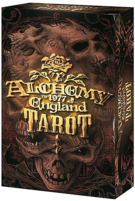 alchemy 1977 gothic 2018 0738748463 alchemy 1977 england tarot tarotkarten bestellen weltbild de
