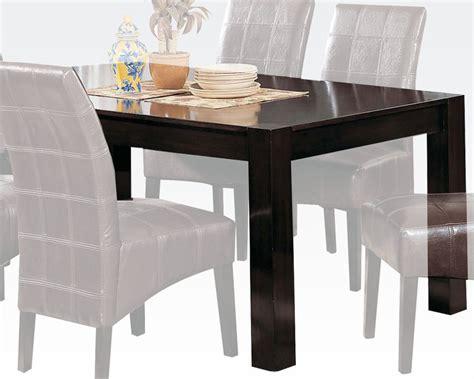 acme dining table roxana ac00798