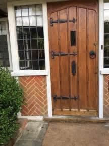 1920s front door 1920s solid oak wooden front door 163 950 00 picclick uk