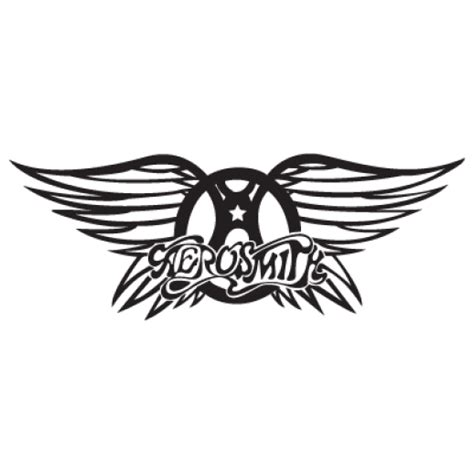 design free band logo aerosmith logo vector ai free graphics download