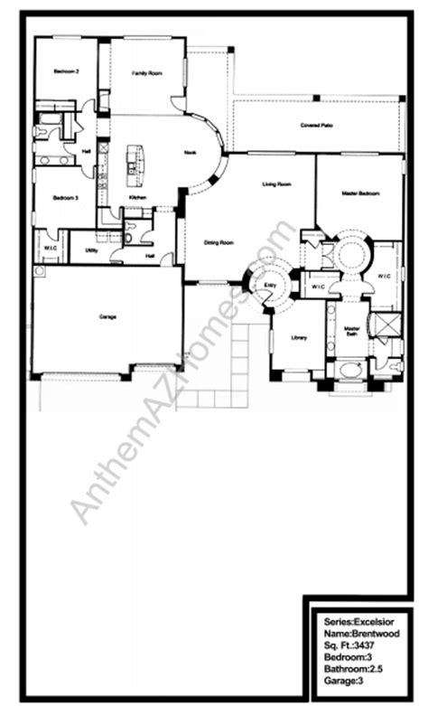 club floor plans anthem country club floor plans
