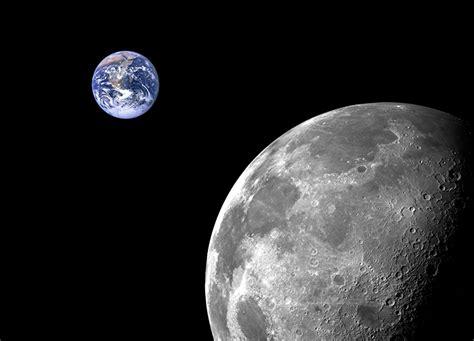 moon amp planet earth wallpaper mural by homewallmurals