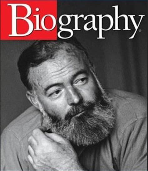 biography ernest hemingway short celebrity biography