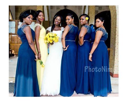 bridal train dresses and styles in nigeria nigerian bridesmaid dresses 25 super stylish looks