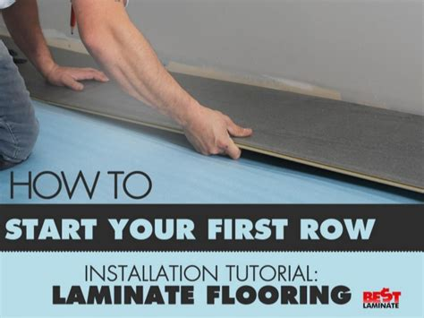 Best Place To Start Laying Laminate Flooring by Laminate Flooring Installation Tutorial How To Start Your