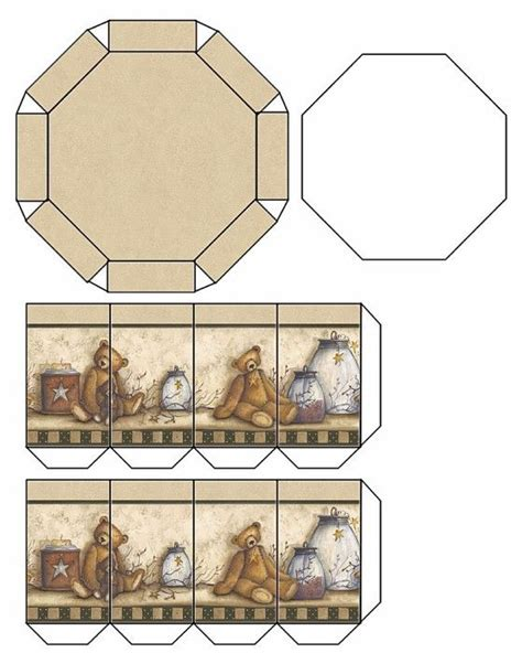 templates for decorative boxes 616 best printable box images on pinterest boxes