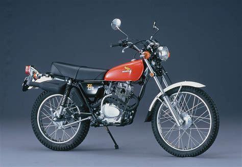 125ccm Motorrad Honda Enduro by Honda Sl 125 Xl 125 1971 1979 Kleine Eintopf Enduro