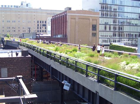chelsea section of nyc high line check out this beautiful aerial greenway in new