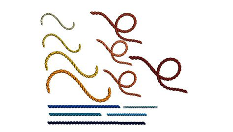 embroidery design not lining up ropes set machine embroidery design in multiple sizes swirl