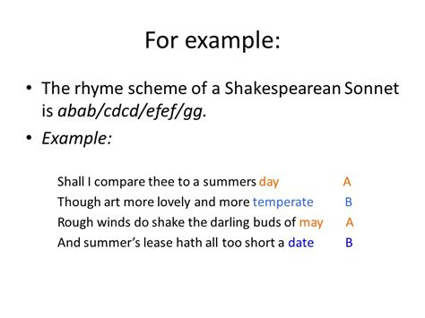 introduction to sonnets ppt