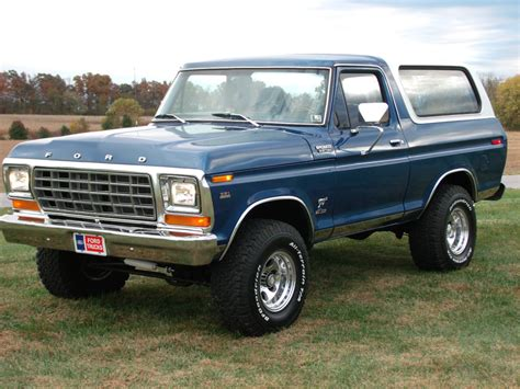 blue bronco this big blue 1979 ford bronco is waiting for you ford