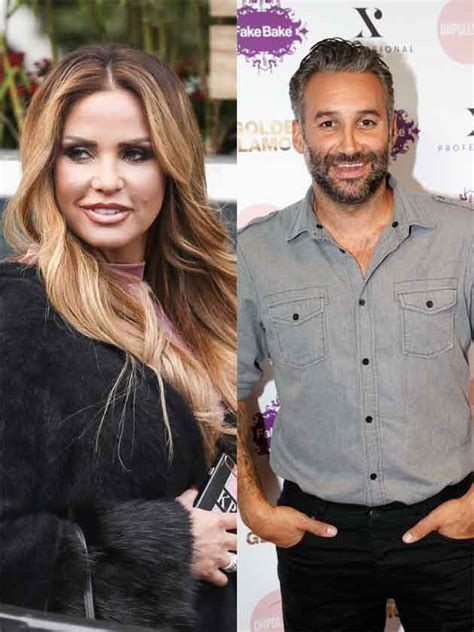 Awks! Married Katie Price reveals ex Dane Bowers as the