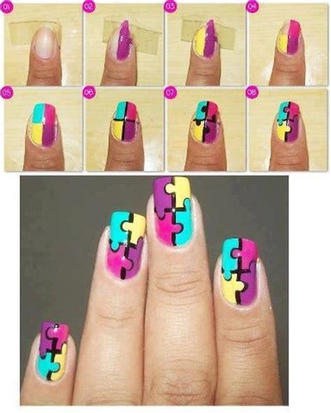 tutorial nail art micheligna 23 creative nails tutorials