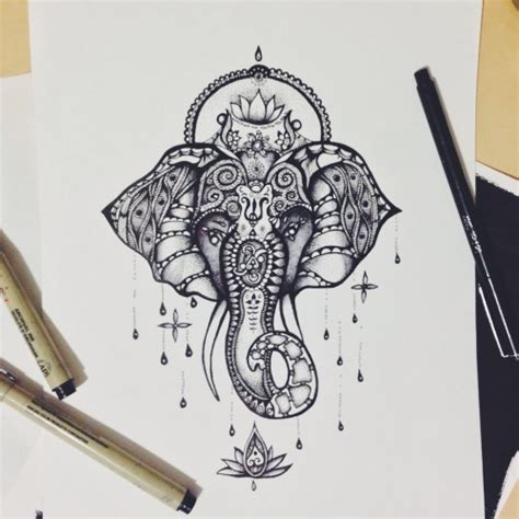 tattoo design drawings tumblr mandala flower drawing