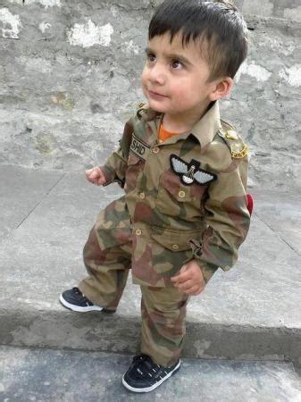 kid in pak army uniform kids & children images & photos