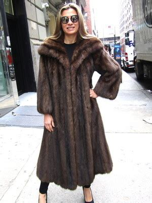 russian swing for sale pre owned russian sable swing coat size 8 10