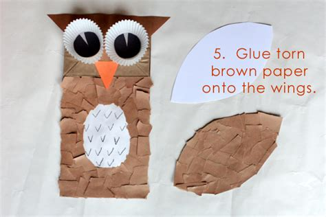 owl puppet template primary theme park