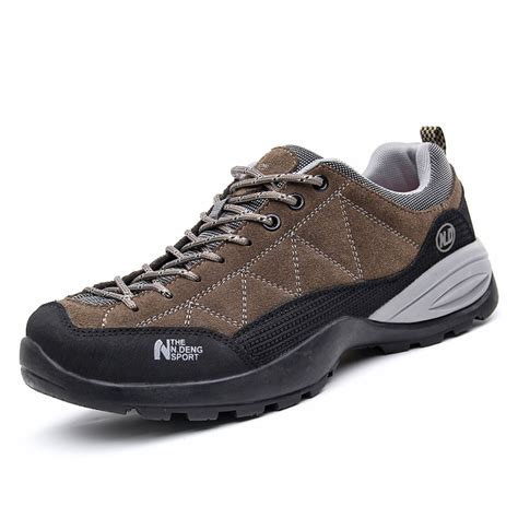 waterproof suude hiking shoes for new 2015 winter mens
